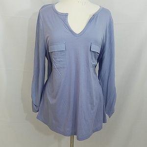 Ann Taylor lavender blouse XL